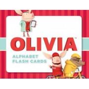 Olivia Alphabet Flash Cards by Ian Falconer