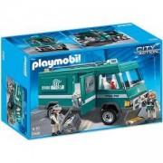 Комплект Плеймобил 5566 - Брониран автомобил за превоз на парични ценности - Playmobil, 291043