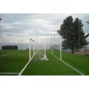 Poarta fotbal 7.32x2.44m aluminiu fixa