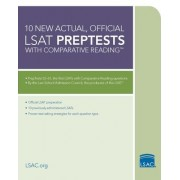 10 New Actual, Official LSAT Preptests with Comparative Reading by Wendy Margolis