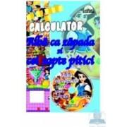 Sa Ne Jucam Pe Calculator - Alba Ca Zapada Si Cei Sapte Pitici - Cd Educativ