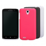 Capac protector Nillkin Frosted Shield si folie pt Lenovo A859