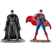 Schleich Batman y Superman militante 2 partes Set con figuras - 22501 22504