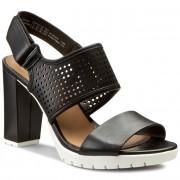 Szandál CLARKS - Pastina Malory 261148294 Black Leather