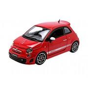 Bburago - 22111r - Fiat - 500 Abarth - Scala 1/24