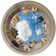 Affresco in Palazzo Ducale Frescoes in the Ducale Palace 500 Piece Round Jigsaw Puzzle