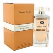 Victor Manuelle New York Pour Femme Eau de Parfum Spray for Women 3.4 Ounce