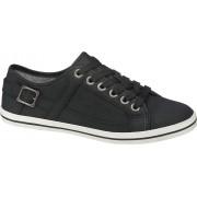 Zwarte sneaker siergesp