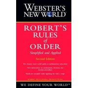 Webster's New World: AND Robert's Rules of Order by Robert McConnell Productions