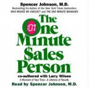 CD: One Minute Salesperson by Spencer Johnson