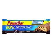 PowerBar Protein Plus 52% Żywność energetyczna Cookies & Cream niebieski Batony i żele energetyczne