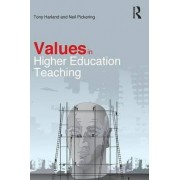 Values in Higher Education Teaching by Tony Harland