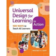 Universal Design for Learning in Action by Whitney H. Rapp