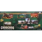 Elemes vonat pálya szett - Choochoo Super No.19020B