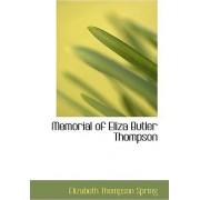 Memorial of Eliza Butler Thompson by Elizabeth Thompson Spring