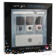 2K - Let´s Get Colourful! French Nail Polish (5ml) Szett - Körömlakk