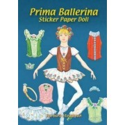 Prima Ballerina Sticker Paper Doll by Barbara Steadman