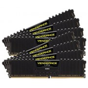 Corsair Vengeance LPX CMK128GX4M8B3000C16 Kit di Memoria RAM da 128GB, 8x16GB, DDR4, Nero