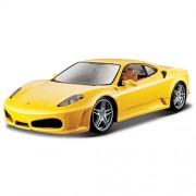 Bburago 1:24 Ferrari Race and Play F430, Multi Color