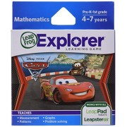 "LeapFrog - Gioco di apprendimento ""Disney-Pixar Cars 2"", per Tablet LeapPad e Leapster [Lingua Inglese]"