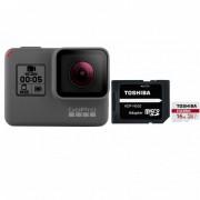 GoPro Hero 5 Black Edition + Micro SD 16 GB Clase 10