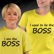 T-shirts Used to be Boss - Mãe