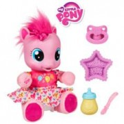 Hasbro Peluche parlante My Little Pony : Premiers pas de Pinkie Pie