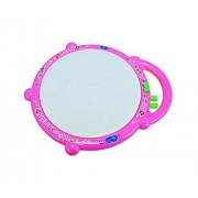 Babysid Collections Musical Toys for Baby Kids Flash Drum with Stick and Flashing Lights Size : 21 x 25 x 6 cm