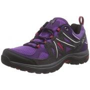 Salomon Ellipse 2 Aero - Zapatillas de senderismo Mujer, Morado - Violet (Rain Purple/Asphalt/Lotus Pink)