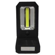 Szerelőlámpa 1+3 COB Led mágneses steklámpa hajlítható nyél elemlámpa