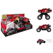 "NEW! Monster Trucks - MONSTER VISION JUMPING TRUCK - Jumps Up to 8""!"