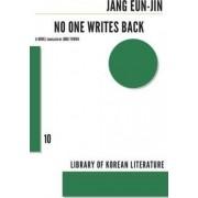 No One Writes Back by Jang Eunjin