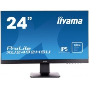 "Monitor IPS LED iiyama 23.8"" XU2492HSU, Full HD (1920x1080), VGA, HDMI, DisplayPort, Boxe, 5 ms (Negru)"