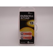 Duracell 13, PR48, 1.45V baterie auditiva blister 6 pentru aparate auditive