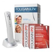 FOLIGAIN.L7x ADVANCED LASER COMB Limited Time Offer Receive FOLIGAIN.P2 6 Month Supply For Free!