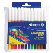 Carioci Colorella Pelikan 12 culori / set