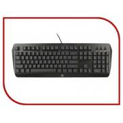 Клавиатура Tt eSports Challenger EDGE Black KB-CHE-MBBLRU-01