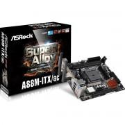 Carte mre Mini ITX ASRock A88M-ITX/ac Socket FM2+ SATA 6 Gbps - USB 3.0 - Wi-Fi AC/Bluetooth 4.0 - 1x PCI-Express 3.0 16x