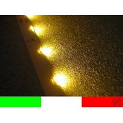 SIDEVIEW BIANCO CALDO 5m STRIP STRISCIA LEDS DI LATO