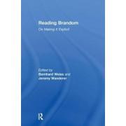 Reading Brandom by Bernhard Weiss