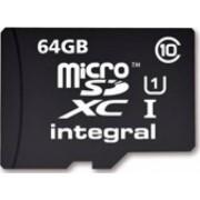 Card memorie Integral 64GB microSDXC Clasa 10