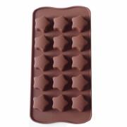 Forma din silicon pentru bomboane - stelute