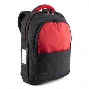 Belkin B2B077-C02 Zaino per Notebook fino a 13 Pollici, Nero/Rosso