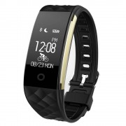 rosegal S2 Bluetooth Smart Bracelet with Heart Rate Monitor Notification GPS Sport Tracker Watch