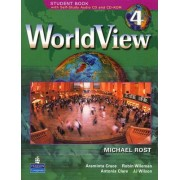 WorldView 4 with Self-Study Audio CD and CD-ROM Workbook: 4 by B. Sakamoto