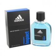 Adidas Fresh Impact Eau De Toilette Spray 3.4 oz / 100 mL Men's Fragrance 481273