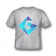 GplayTV тениска с лого сива, Size XL