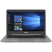 """Ultrabook™ ASUS Zenbook UX310UQ-FB016T (Procesor Intel® Core™ i7-6500U (4M Cache, up to 3.10 GHz), Skylake, 13.3""""QHD+, 16GB, 1TB + 256GB SSD, nVidia GeForce 940MX@2GB, Wireless AC, Tastatura iluminata, Win10 Home 64, Gri)"""
