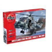 Airfix A10107 Westland Lynx Navy HAMA8 Super Lynx - Kit per modellismo, Elicottero militare, serie 10, scala 1:48