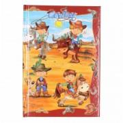 Gelinieerd notitie boekje cowboy